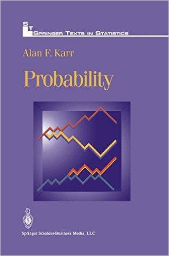 Probability. Alan F. Karr