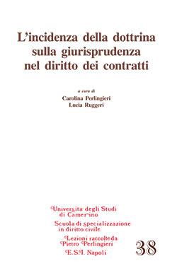 L'incidenza della dottrina sulla giurisprudenza nel diritto dei contratti. A cura di Carolina Perlingieri, Lucia Ruggeri