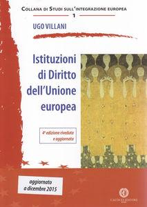 Istituzioni di diritto dell'Unione europea. Ugo Villani