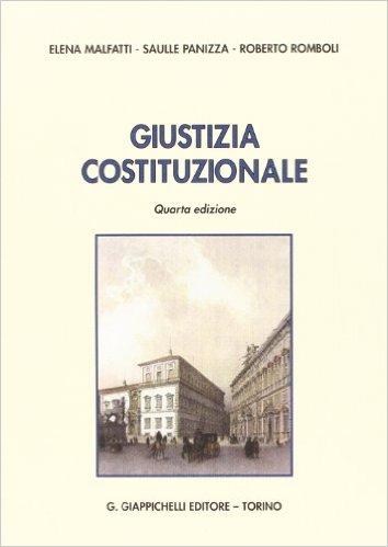 Giustizia costituzionale. Elena Malfatti